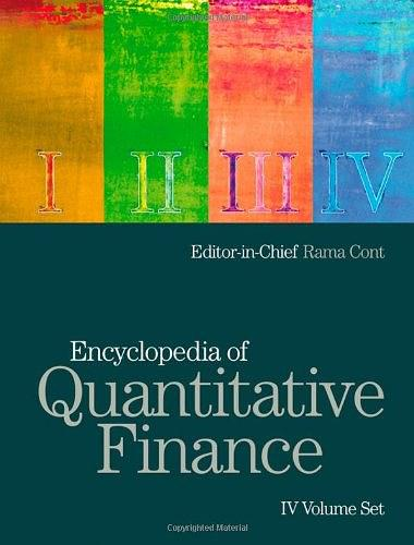Encyclopedia of Quantitative Finance